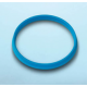 DURAN® YOUTILITY Pouring Ring for DURAN® laboratory glass bottles with DIN thread GL45, Cyan Polypropylene